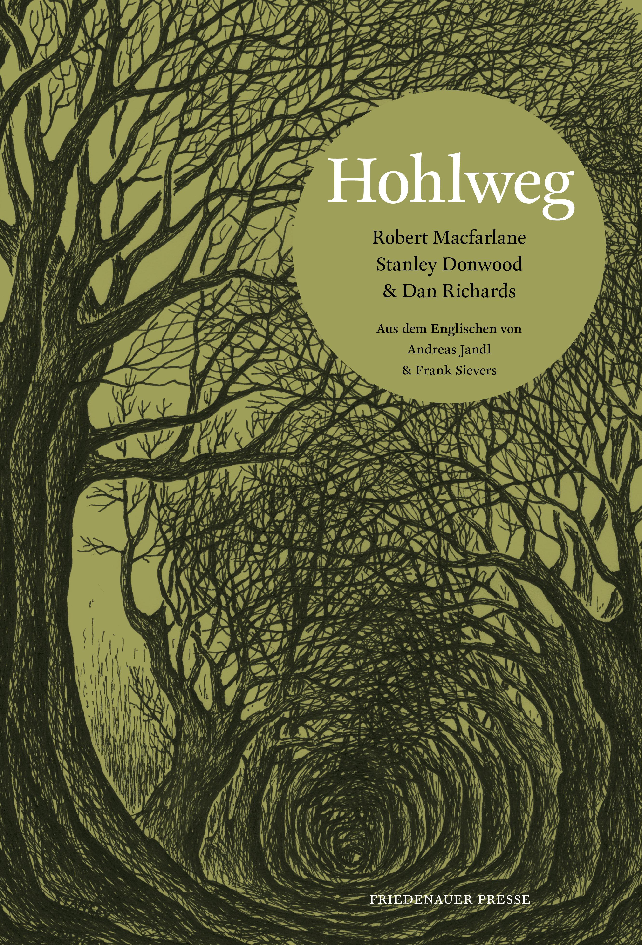 German version of Donwoods Cover for Macfarlane, Holloway